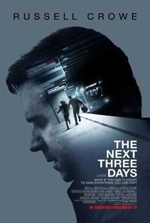 The Next Three Days - Movie Poster (thumbnail)
