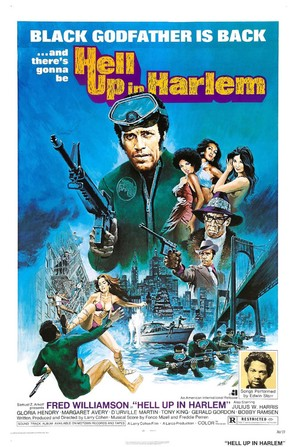 Hell Up in Harlem - Theatrical poster (thumbnail)