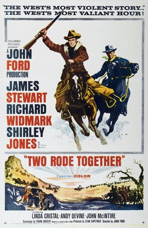 Two Rode Together - Movie Poster (thumbnail)