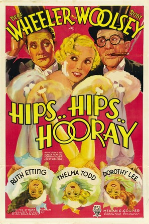 Hips, Hips, Hooray! - Movie Poster (thumbnail)