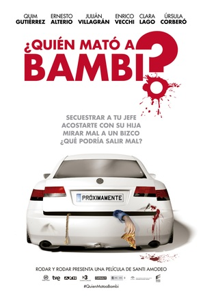¿Quién mató a Bambi? - Spanish Movie Poster (thumbnail)