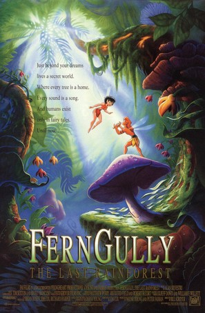 FernGully: The Last Rainforest - Movie Poster (thumbnail)