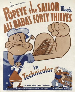Popeye the Sailor Meets Ali Baba's Forty Thieves - Movie Poster (thumbnail)