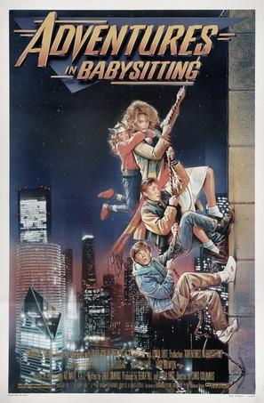 Adventures in Babysitting - Movie Poster (thumbnail)