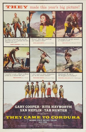 They Came to Cordura - Movie Poster (thumbnail)