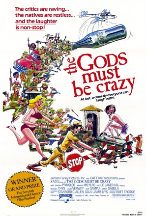 The Gods Must Be Crazy - Movie Poster (thumbnail)
