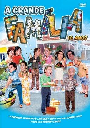 """A Grande Família"" - Brazilian DVD movie cover (thumbnail)"