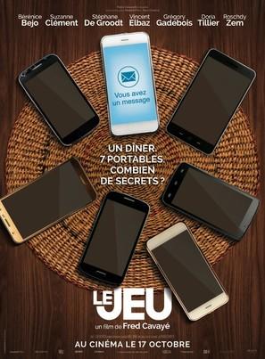 Le jeu - French Movie Poster (thumbnail)