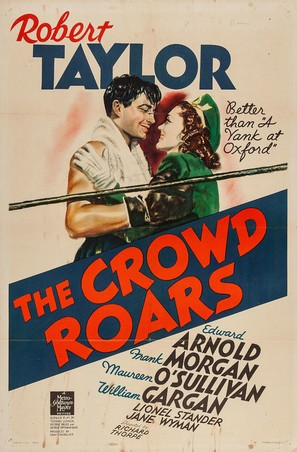 The Crowd Roars - Movie Poster (thumbnail)