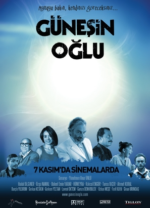 Günesin oglu - Turkish Movie Poster (thumbnail)