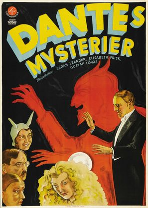 Dantes mysterier - Swedish Movie Poster (thumbnail)