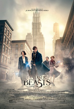 Fantastic Beasts and Where to Find Them - Movie Poster (thumbnail)