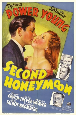 Second Honeymoon - Movie Poster (thumbnail)