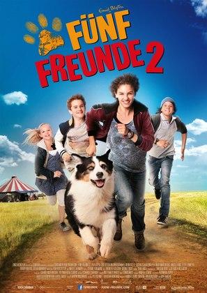 Fünf Freunde 2 - German Movie Poster (thumbnail)