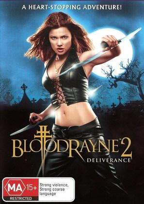 Bloodrayne 2 - Australian DVD movie cover (thumbnail)