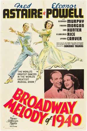 Broadway Melody of 1940 - Movie Poster (thumbnail)