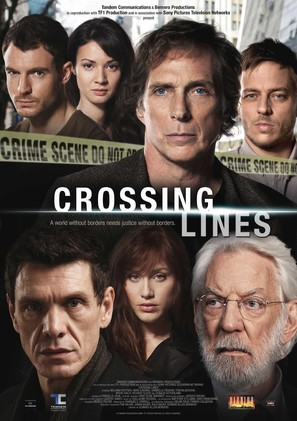 """""""Crossing Lines"""" - French Movie Poster (thumbnail)"""