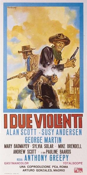 I due violenti - Italian Movie Poster (thumbnail)