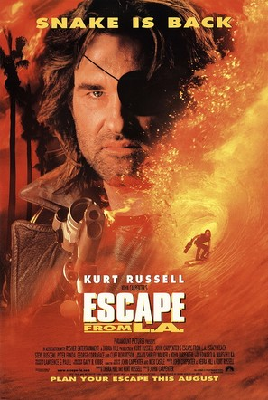 Escape from L.A. - Movie Poster (thumbnail)