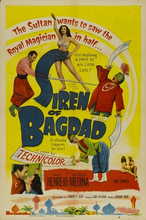 Siren of Bagdad - Movie Poster (thumbnail)