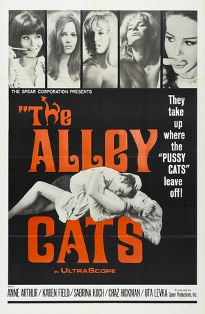 The Alley Cats - Movie Poster (thumbnail)