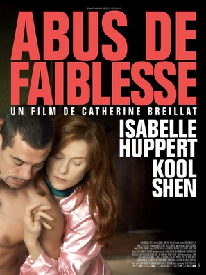 Abus de faiblesse - French Movie Poster (thumbnail)