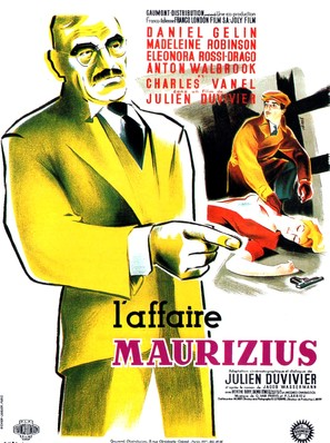 Affaire Maurizius, L' - French Movie Poster (thumbnail)