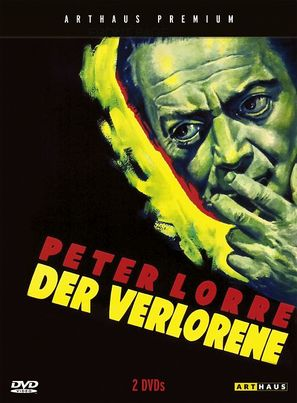 Der Verlorene - German DVD cover (thumbnail)