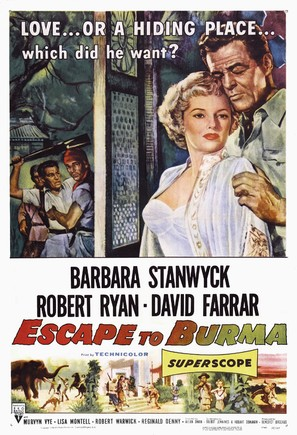 Escape to Burma - Movie Poster (thumbnail)