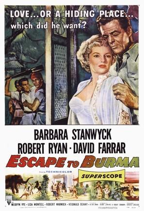 Escape to Burma - Movie Poster (thumbnail)