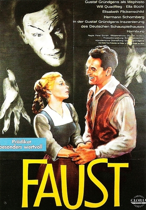 Faust - German Movie Poster (thumbnail)