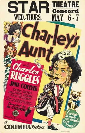 Charley's Aunt - Movie Poster (thumbnail)