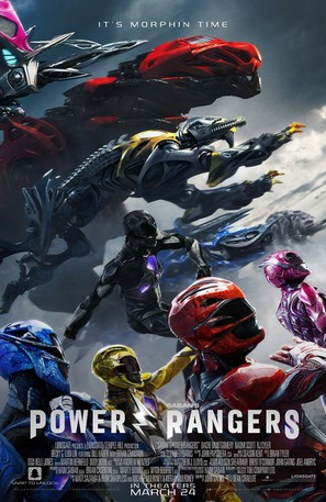 Power Rangers - Movie Poster (thumbnail)