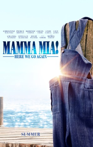 Mamma Mia! Here We Go Again - Movie Poster (thumbnail)