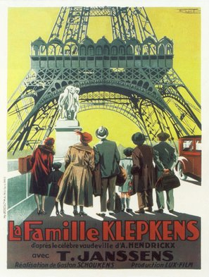 La famille Klepkens - French Movie Poster (thumbnail)