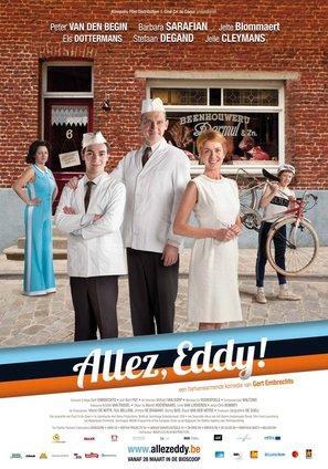 Allez, Eddy! - Belgian Movie Poster (thumbnail)