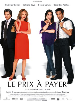 Le prix à payer - French Movie Poster (thumbnail)
