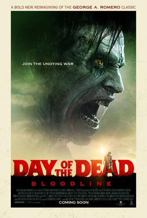 Day of the Dead: Bloodline - Theatrical movie poster (thumbnail)