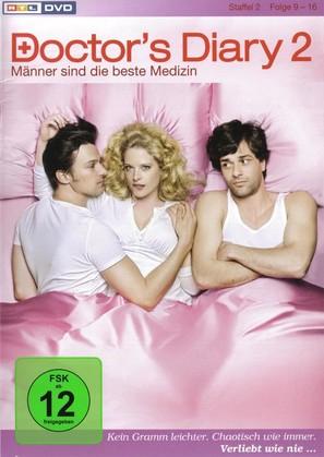 """""""Doctor's Diary - Männer sind die beste Medizin"""" - German DVD movie cover (thumbnail)"""