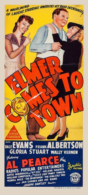 Here Comes Elmer - Australian Movie Poster (thumbnail)