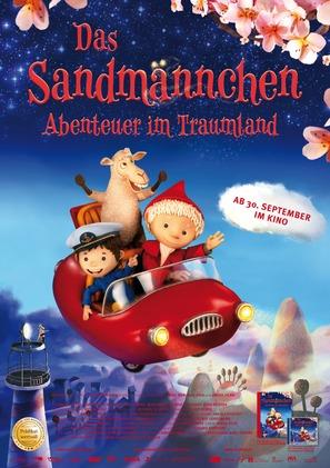 Das Sandmännchen - Abenteuer im Traumland - German Movie Poster (thumbnail)