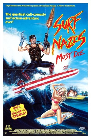Surf Nazis Must Die - Movie Poster (thumbnail)