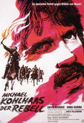 Michael Kohlhaas - Der Rebell - German Movie Poster (thumbnail)
