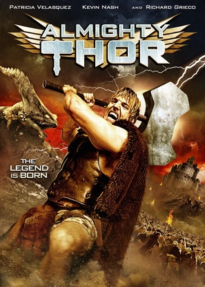 Almighty Thor - DVD movie cover (thumbnail)