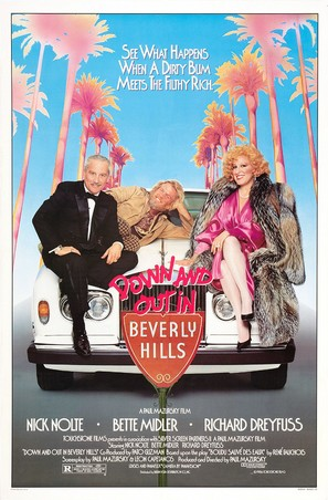 Down and Out in Beverly Hills - Movie Poster (thumbnail)