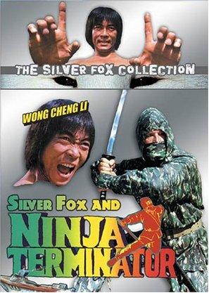 Ninja Terminator - DVD cover (thumbnail)