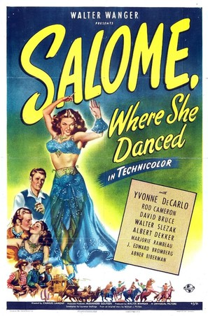 Salome Where She Danced - Movie Poster (thumbnail)