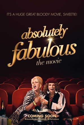 Absolutely Fabulous: The Movie - British Movie Poster (thumbnail)