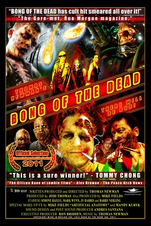 Bong of the Dead - Canadian Movie Poster (thumbnail)