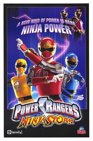 """Power Rangers Ninja Storm"" - poster (thumbnail)"